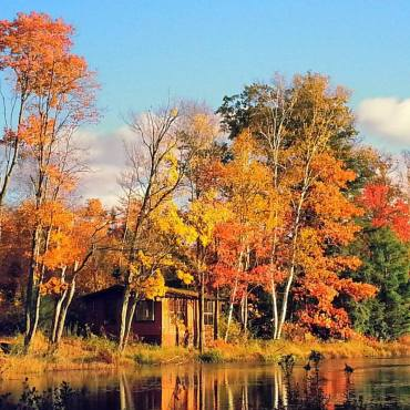 The beauty of Canada in autumn.