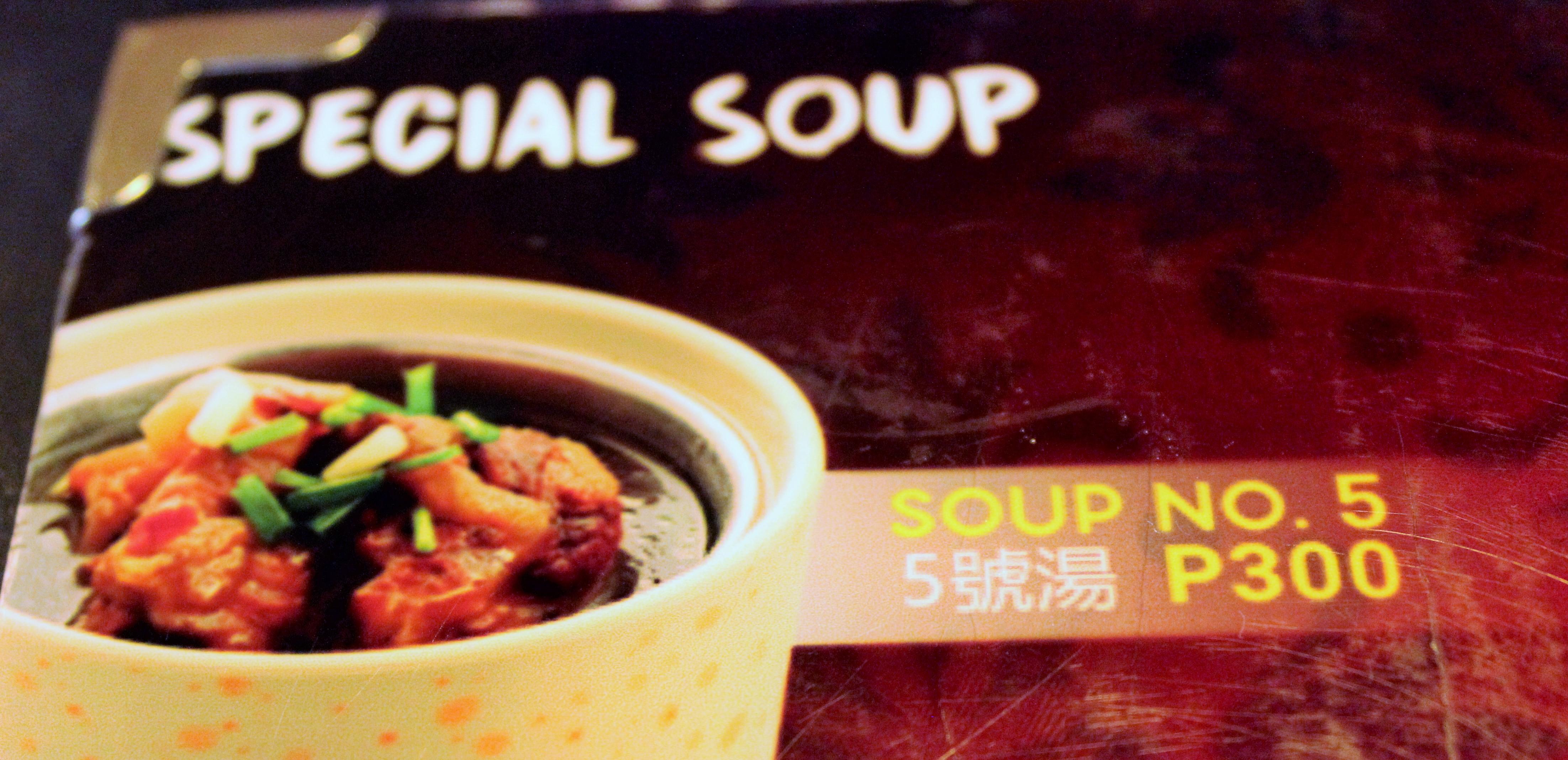 Soup #5 – Filipino Edibles